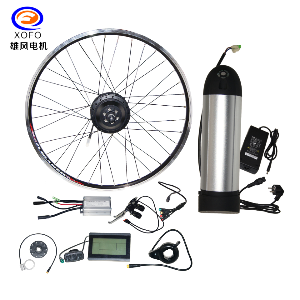 250W Electric XOFO Bicycle Motor kits with rim E-bike conversion kits