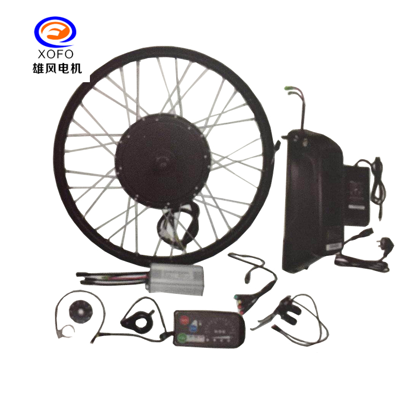 1000w-2000w Direct Drive Motor Kits for e-bike